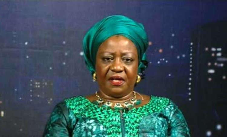Lauretta Onochie, the social media aide to President Muhammadu Buhari. [PHOTO CREDIT: Concise News]