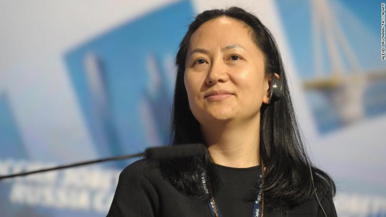 Huawei's founder, Meng Wanzhou [Photo: CNN]