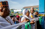 Mrs. Buhari commissions the Aisha Buhari Integrated school in Maiduguribuilt by Governor Kashim Shettima for children of Fulanis and Mbororojis, orphans and the girl child..jpeg