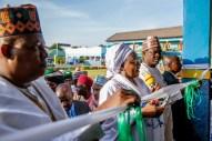 Mrs. Buhari commissions the Aisha Buhari Integrated school in Maiduguribuilt by Governor Kashim Shettima for children of Fulanis and Mbororojis, orphans and the girl child..jpeg