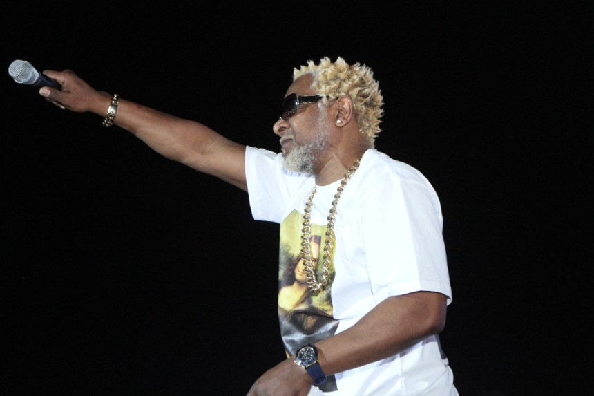 Awilo Longomba performing in Anambra