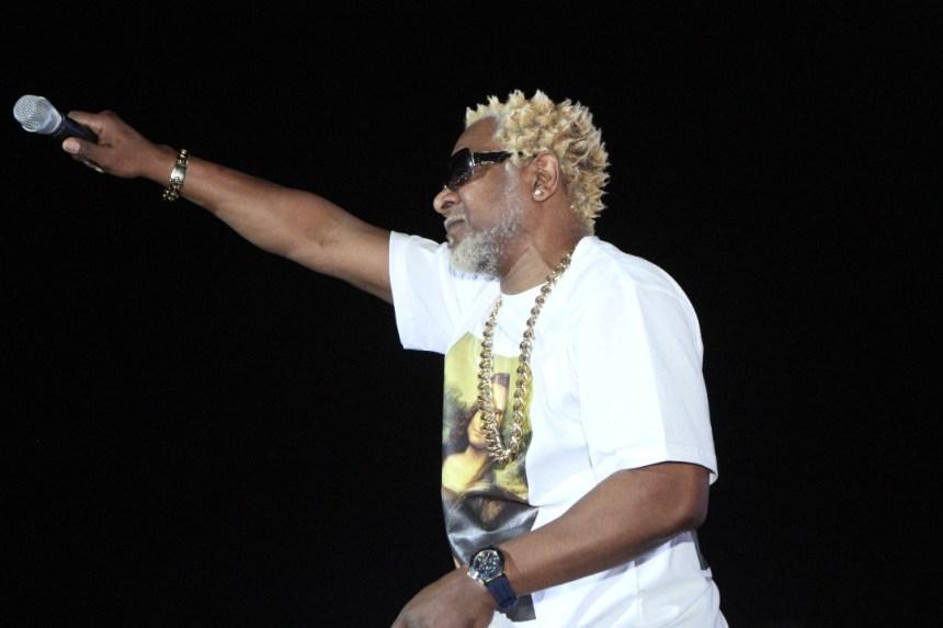 Awilo Longomba performing in Anambra