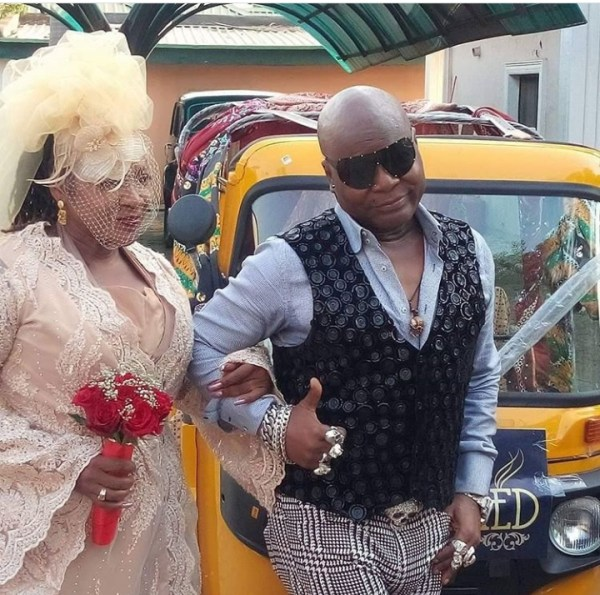 Charly Boy remarries wife of 40 years