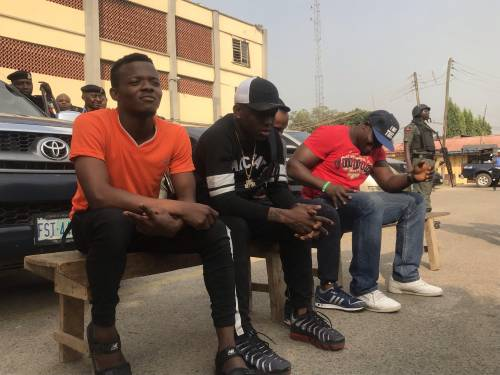 Image result for Musician, 'Small Doctor', three others arrested for possession of firearms