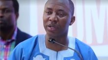 The presidential candidate of the African Action Congress (AAC), Omoyele Sowore,.