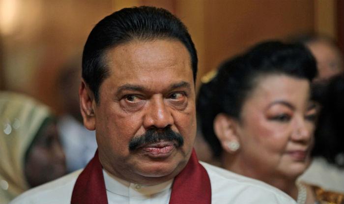 Sri Lankan PM Mahinda Rajapaksa