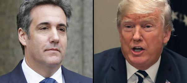Trump and Cohen. [PHOTO CREDIT: CNN]