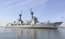 Nigerian Navy warship