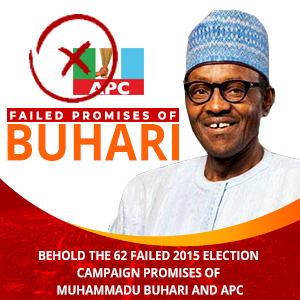 Buhari failed promises