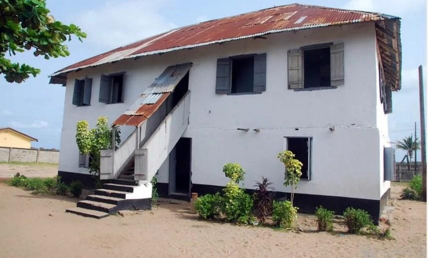 First storey building in Nigeria, Badagry, Lagos (Photo Credit: Legit.ng)