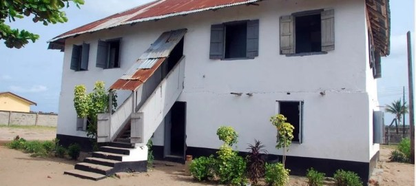 First storey building in Nigeria, Badagry, Lagos (Photo Credit: Legit.ng)