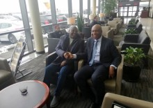 PDP Presidential aspirant, Atiku Abubakar in USA. [PHOTO CREDIT: Official twitter handle of Reno Omokri]