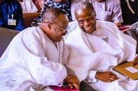 Gov. Ajimobi and VP Osinbajo at the meeting
