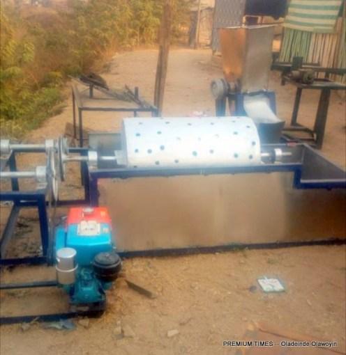 Processing machines