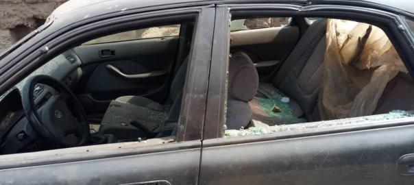 Photos of hoodlums attack on Saraki's supporters