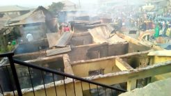 Police arrest 11 as suspected arsonists burn shops, houses in Ibadan