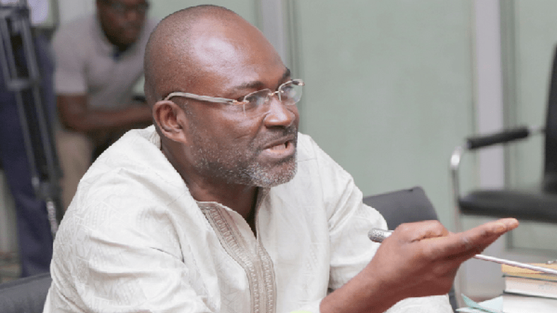 Kennedy Agyapong, a member of Ghana's ruling New Patriotic Party (NPP),