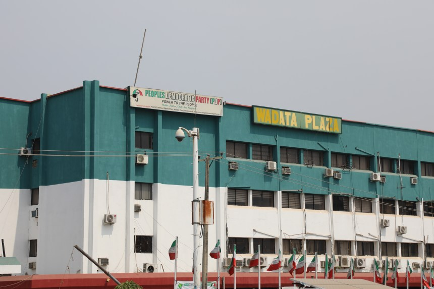 PDP Head Quarters [Photo: George Ogala]
