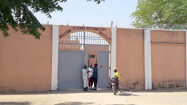 Building Refotmatory Centre Kiru Kano state.