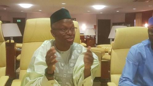 Executive Governor of Kaduna State, Nasir El-Rufai