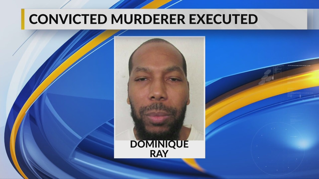 Ray was sentenced to death for the murder of 15-year-old Tiffany Harville in 1995.