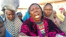 Baga IDP protest, in Borno State.