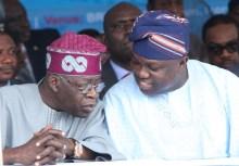 Bola TInubu and Lagos State Governor. Akinwunmi Ambode