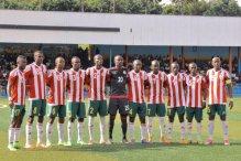 Burundi U20 team. [PHOTO CREDIT: Twitter account of Clyde Tlou, @clydegoal]