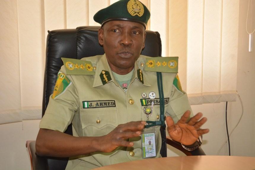 Comptroller General, Nigerian Prisons Service, Jaafar Ahmed.