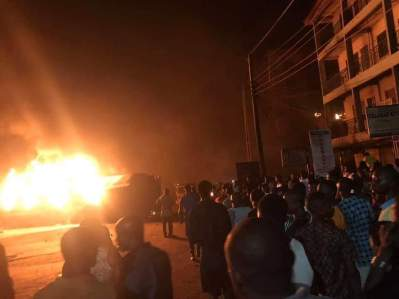 Aftermath of Awka tanker fire