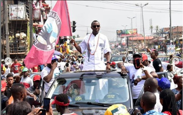 The presidential candidate of the African Action Congress (AAC), Omoyele Sowore,.[PHOTO CREDIT: Official Instagram account of Sowore]