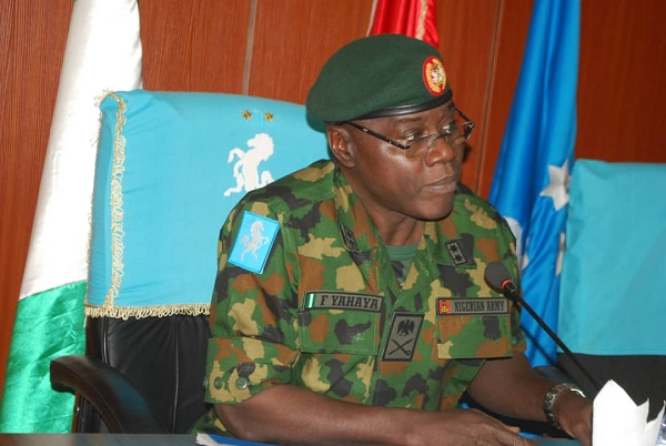 General Officer Commanding One Division of the Nigerian Army, Faruk Yahaya
