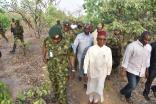 Kaduna State governor, Nasiru El-Rufai at Kajuru. [PHOTO CREDIT: Kaduna State Government]