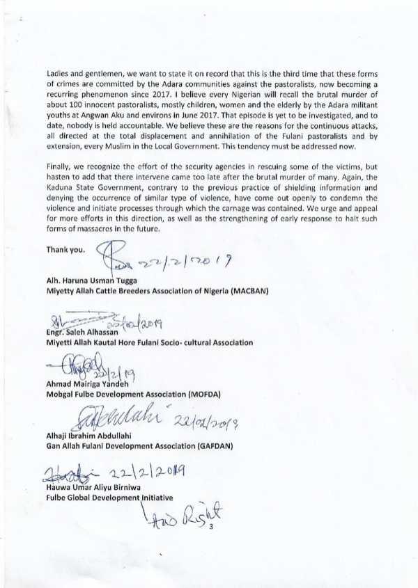 Press Release on Kajuru Killings (1)-3