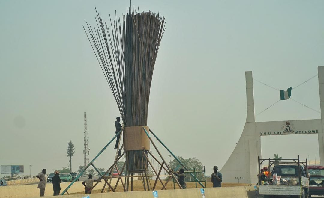 Umrah Banner: PDP, Others Kick As APC Erects Party Monument At Abuja