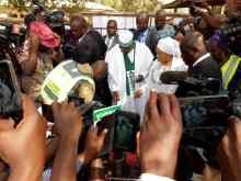 Atiku and Titi Abubakar have voted