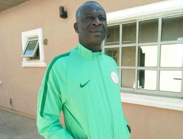 Super Sand Eagles Assistant Coach,Chukwuma Agbo