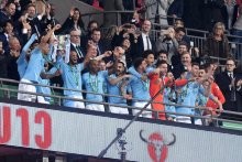 Manchester City beat Chelsea to retain League Cup