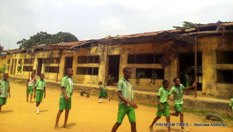 Abandoned building, Methodist School, Ewu-tuntun, Oshodi