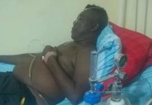 Ailing singer, Chris Mba Photo by Azuka Jebose