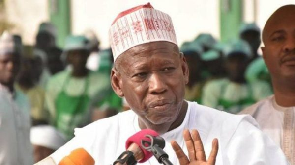 Kano Governor, Abdullahi Ganduje