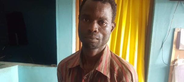 A 25-year-old man, Seyi Ajiboy who raped a minor