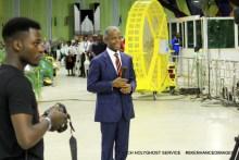 VP Yemi Osinbajo in RCCG Chapel