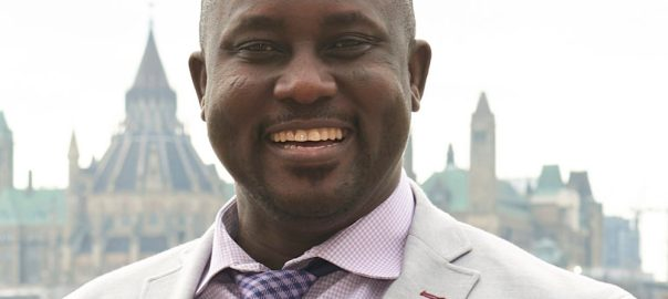 This undated photo provided by Carleton University shows Pius Adesanmi. Adesanmi, a Nigerian professor with Carleton University in Ottowa, Canada, was one of the victims who died Sunday, March 10, 2019, when an Ehtiopian Airlines jet crashed shortly after takeoff in Ethiopia. (Josh Hotz/Courtesy of Carleton University via AP)