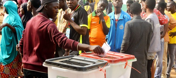 File photo of voters at the elections