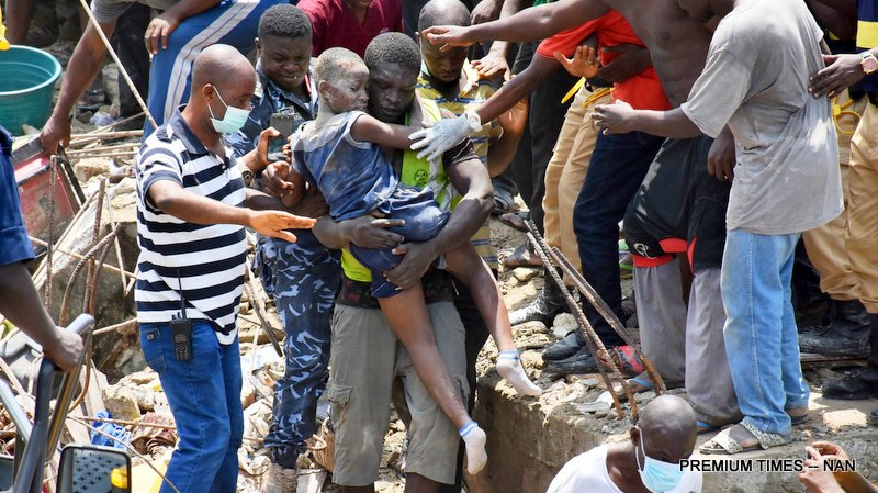 Group requests coroner's inquest into Lagos building collapse