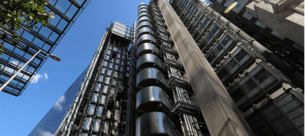 Lloyds of London's headquarters is seen in the City of London, Britain, July 31, 2018. REUTERS/Simon Dawson