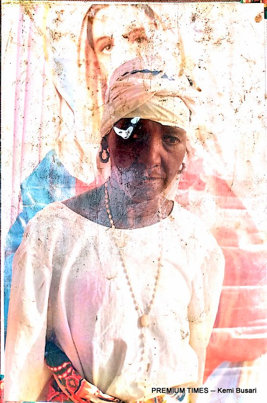 The 90-year-old matriach