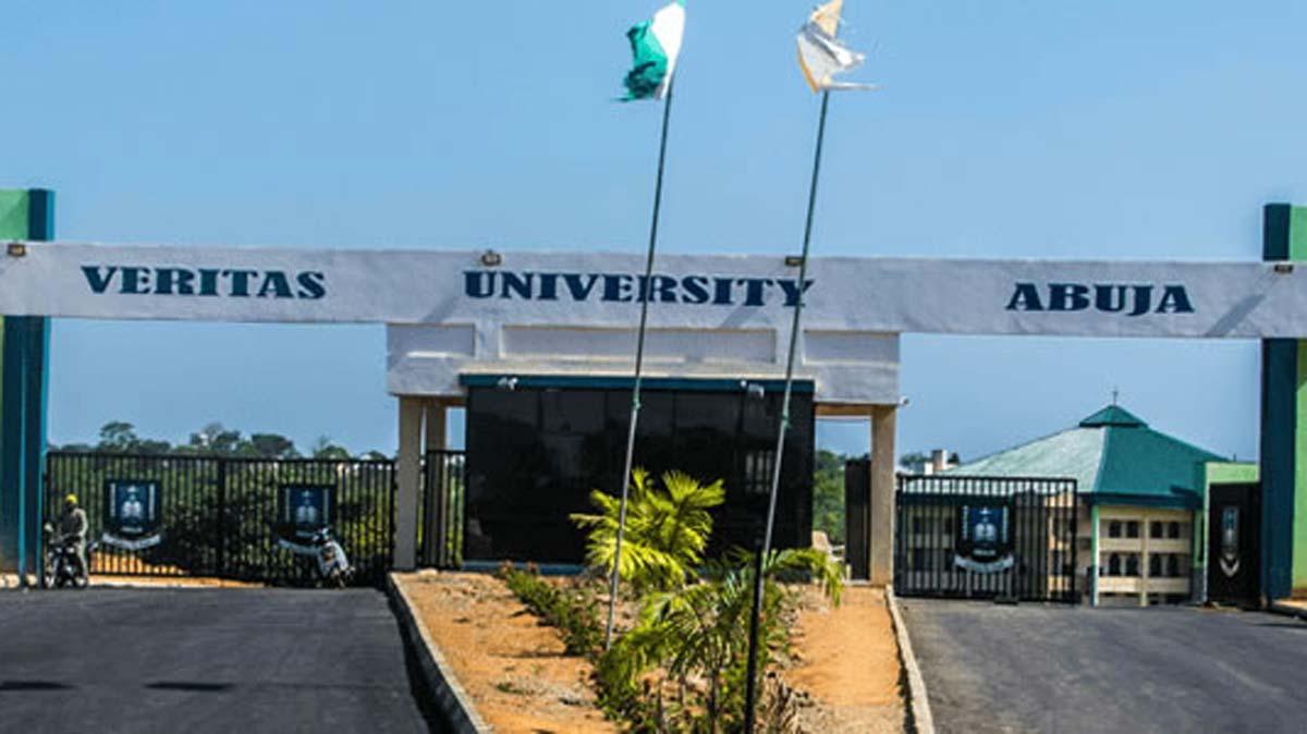 Main Entrance, Veritas University Abuja. Photo: Premium Times Nigeria
