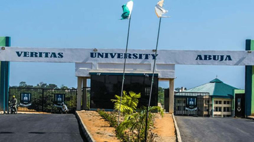 Main Entrance, Veritas University, Abuja. Photo: Premium Times Nigeria